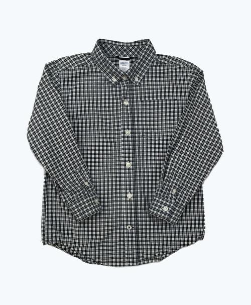 Long Sleeve Checkered Button Down