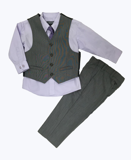 SOLD 4-Piece Vest & Dress Pants Set