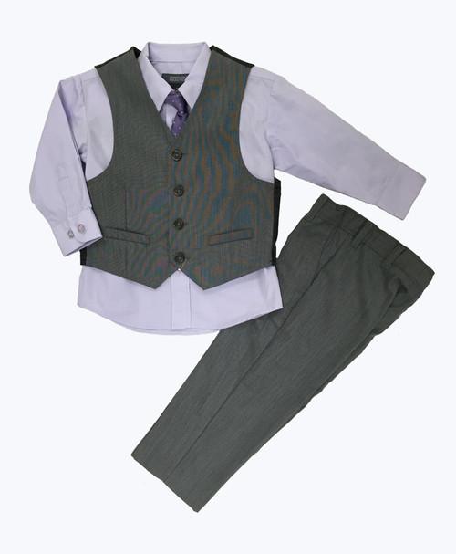 SOLD 4-Piece Vest & Dress Pants Set