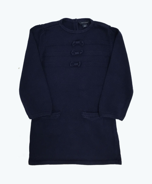 SOLD - Navy Blue Sweater Dress