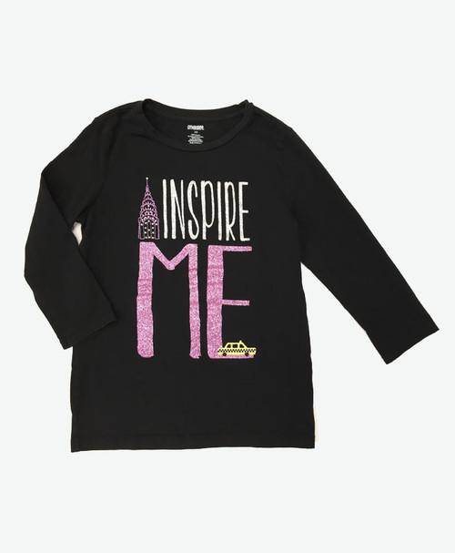 SOLD - Inspire Glitter Tee Shirt