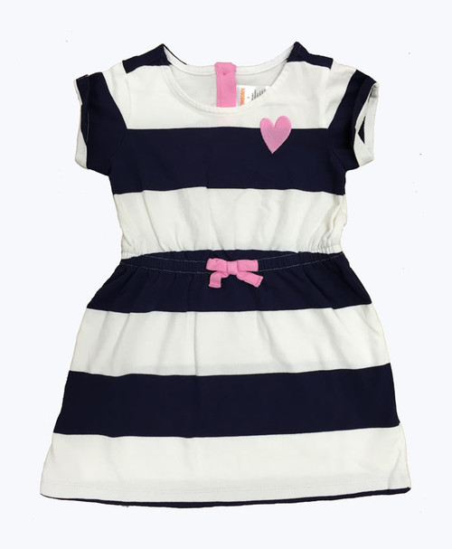 SOLD - Navy Stripes Dress