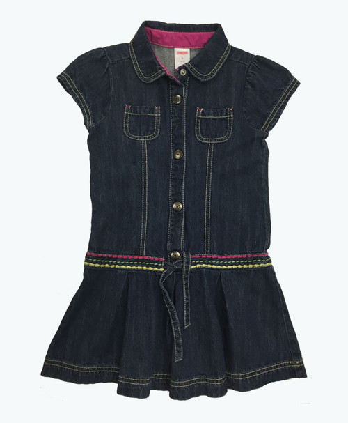 SOLD - Dark Denim Dress