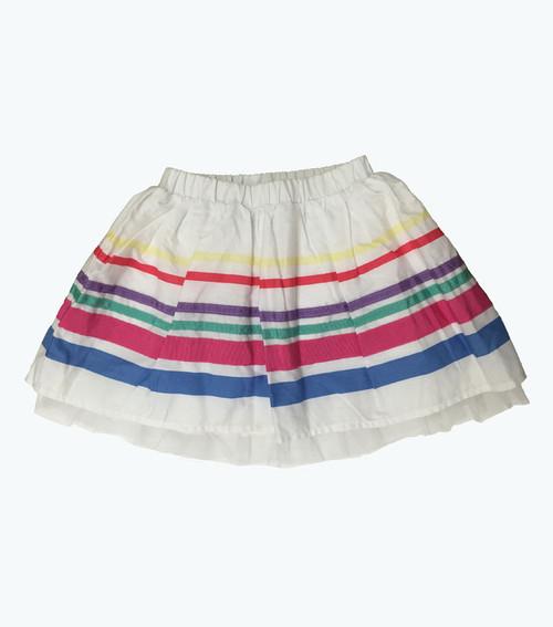 Ribbon Striped Skirt
