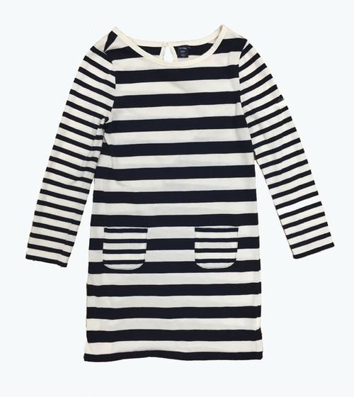 Navy Stripes Dress