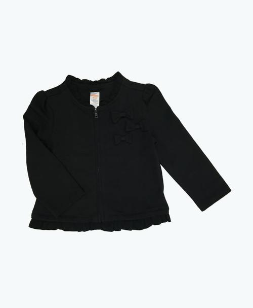SOLD - Black Ruffle Jacket