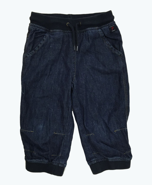 Denim Pull On Joggers