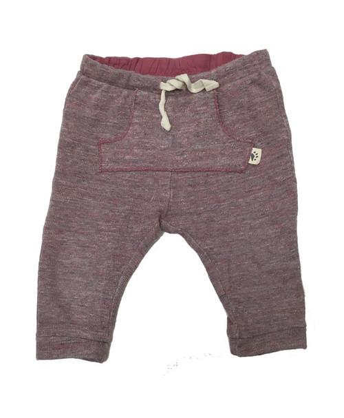Mauve Ribbed Pants