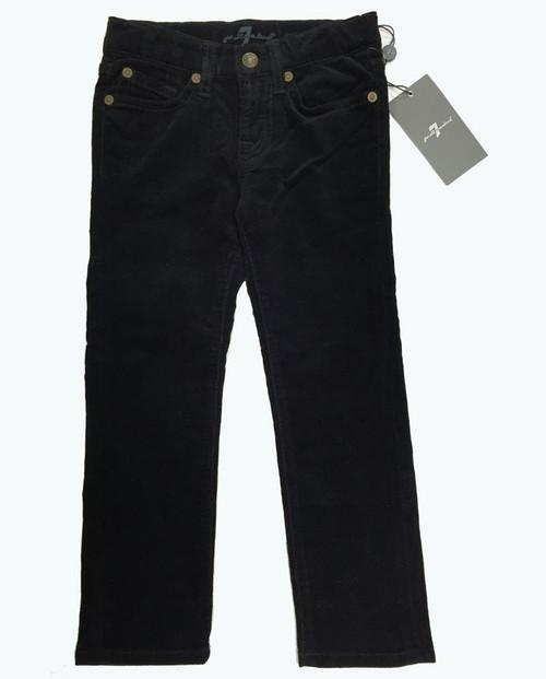 5-Pocket Black Corduroy Pants