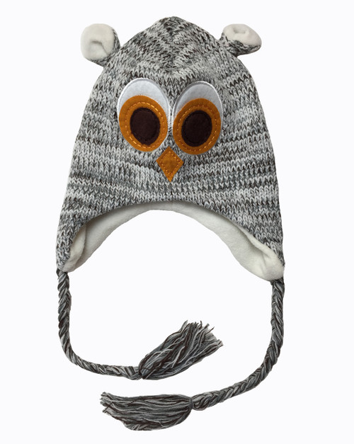 Cozy Critter Hat - Owl