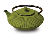Cast Iron Green Tree Root Teapot