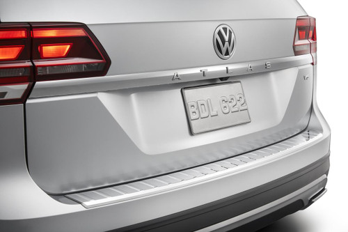 VW Atlas Chrome Rear Bumper Protector