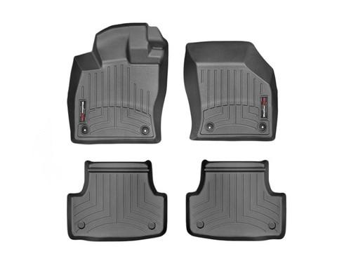 VW Golf WeatherTech FloorLiners - Black