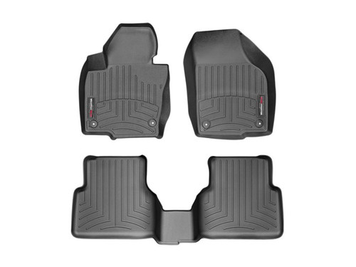 Vw Tiguan WeatherTech FloorLiners - Black