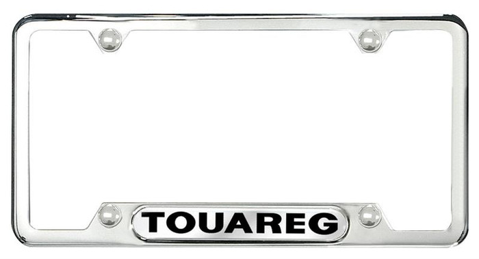 Vw Touareg Polished License Plate Frame