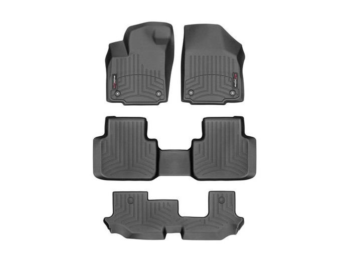 VW Atlas WeatherTech Floor Liners