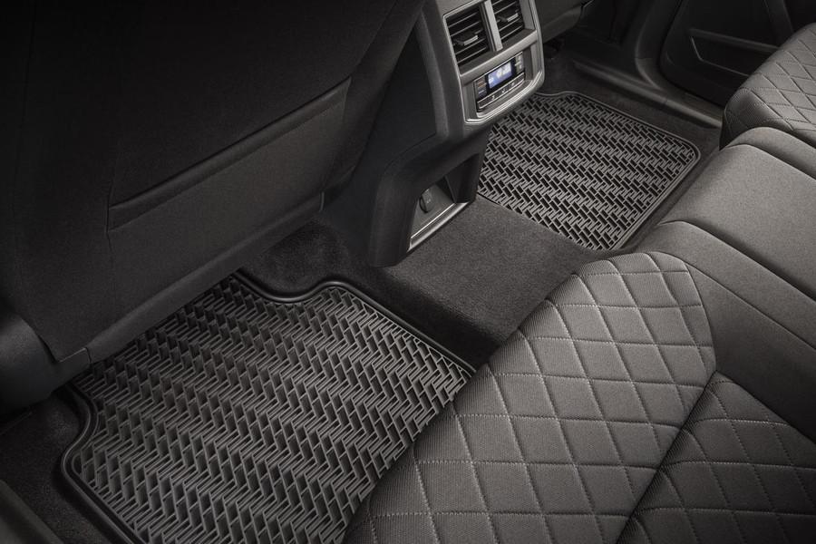 Volkswagen Atlas Rubber Floor Mats