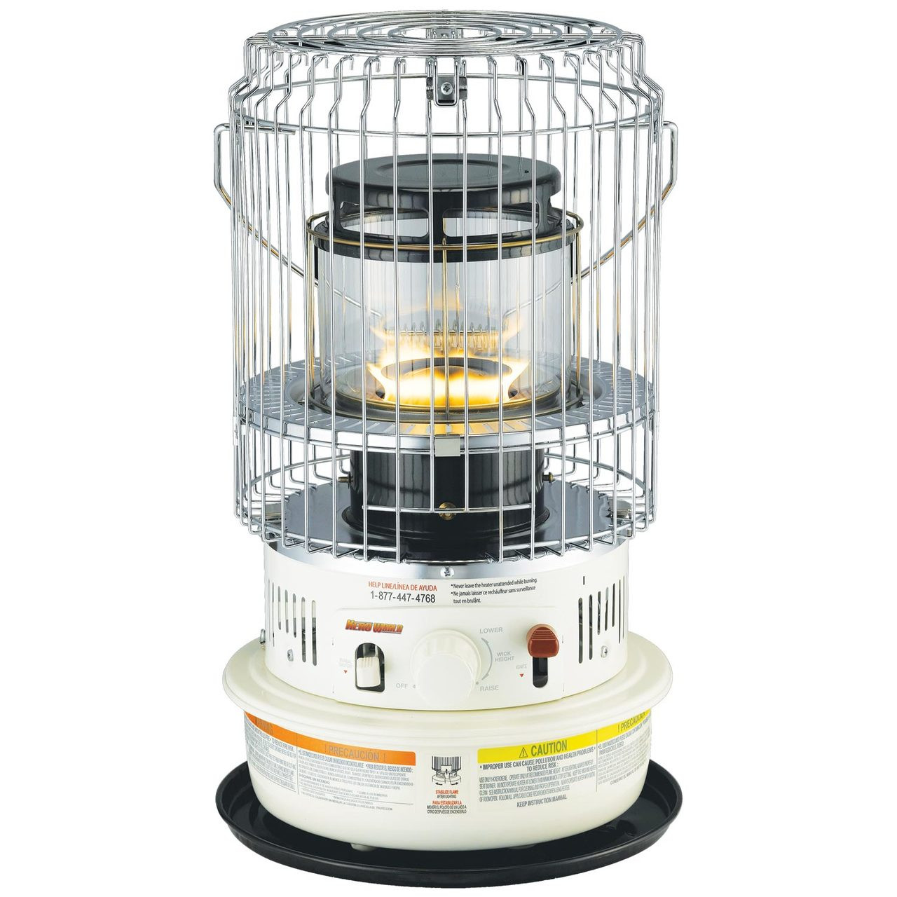 Kero World Compact Convection 10,500 Btu\'s Portable Indoor Kerosene ...