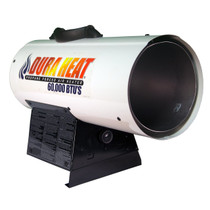 Dura Heat GFA60A 30K-60K BTUs Propane(LP) Forced Air Heater