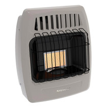 Kozy World KWP210 6000 Btu 1 Plaque Propane Infrared Vent Free Wall Heater