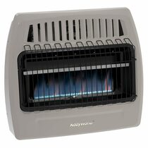 Kozy World KWP376 30,000 Btu Blue Flame Propane(LP) Vent Free Wall Heater