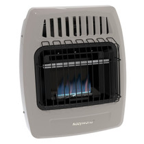 Kozy World KWD154 10000 Btu Blue Flame Dual Fuel Vent Free Wall Heater