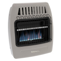 Kozy World KWD258 20000 Btu Blue Flame Dual Fuel Vent Free Wall Heater