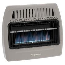 Kozy World KWD378 30000 Btu Blue Flame Dual Fuel Vent Free Wall Heater