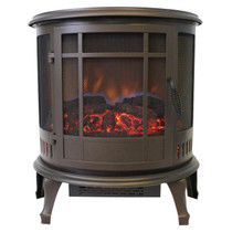 Comfort Glow ES4835 Claremont 180 Degree Viewing Bronze Electric Stove
