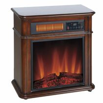 Comfort Glow QF4714R Devonshire Infrared Quartz Electric Fireplace