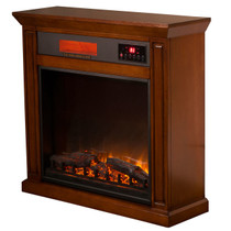 Comfort Glow EF5675R Ainsley Infrared Quartz Electric Fireplace