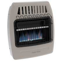 Comfort Glow KWD259 20,000 Btu Blue Flame Propane(LP) & Natural Gas(NG) Vent Free Wall Heater