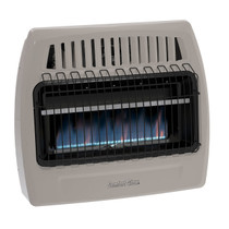 Comfort Glow KWD379 30,000 Btu Blue Flame Propane(LP) & Natural Gas(NG) Vent Free Wall Heater