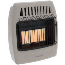 Comfort Glow KWD326 18000 Btu 3 Plaque Dual Fuel Infrared Vent Free Wall Heater