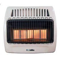 Comfort Glow KWD526 30000 Btu 5 Plaque Dual Fuel Infrared Vent Free Wall Heater