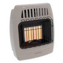 Comfort Glow KWD216 12000 Btu 2 Plaque Dual Fuel Infrared Vent Free Wall Heater