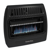 Comfort Glow KWG363 30000 Btu Blue Flame Dual Fuel Vent Free Utility Wall Heater