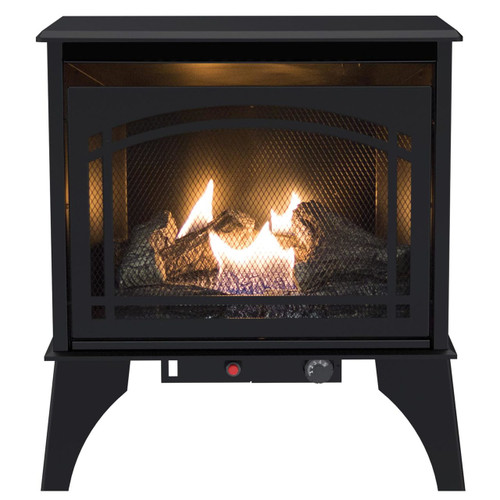 Kozy World GSD2210 The Phoenix Vent-Free 20,000 BTU Propane(LP) or Natural Gas(NG) Stove