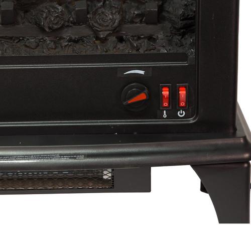 comfort glow eqs5140 sanibel 3 sided infrared quartz electric stove world marketing of america. Black Bedroom Furniture Sets. Home Design Ideas
