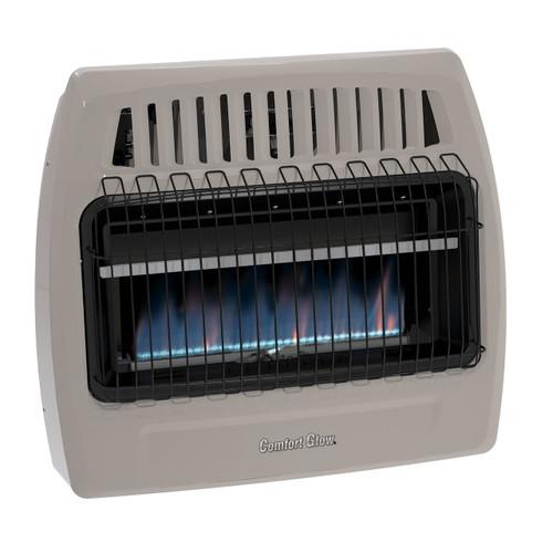 Comfort Glow KWD379 30,000 Btu Blue Flame Propane(LP) & Natural Gas(NG) Vent Free Wall Heater