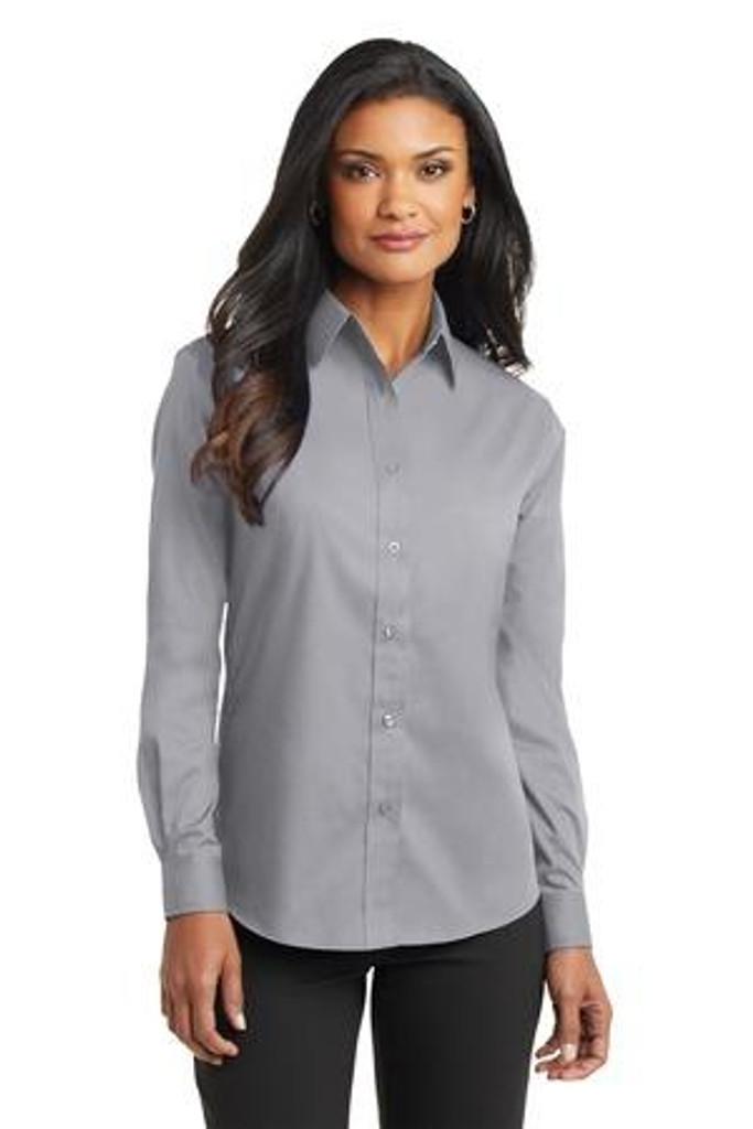 Ladies Long Sleeve Value Poplin Shirt