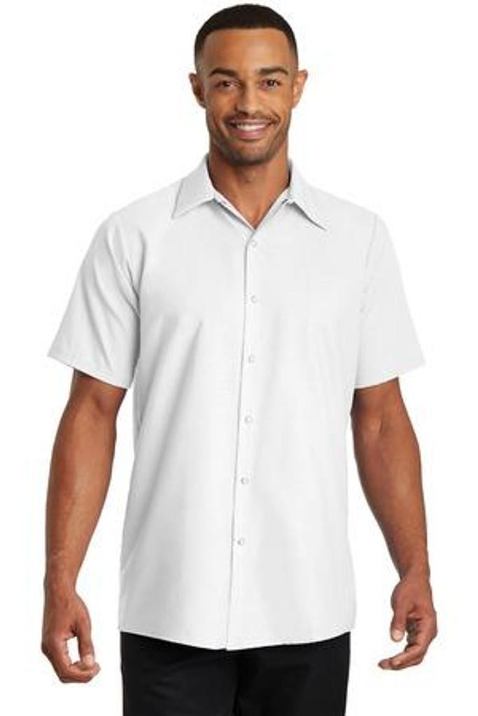 Short Sleeve Pocketless Gripper Shirt