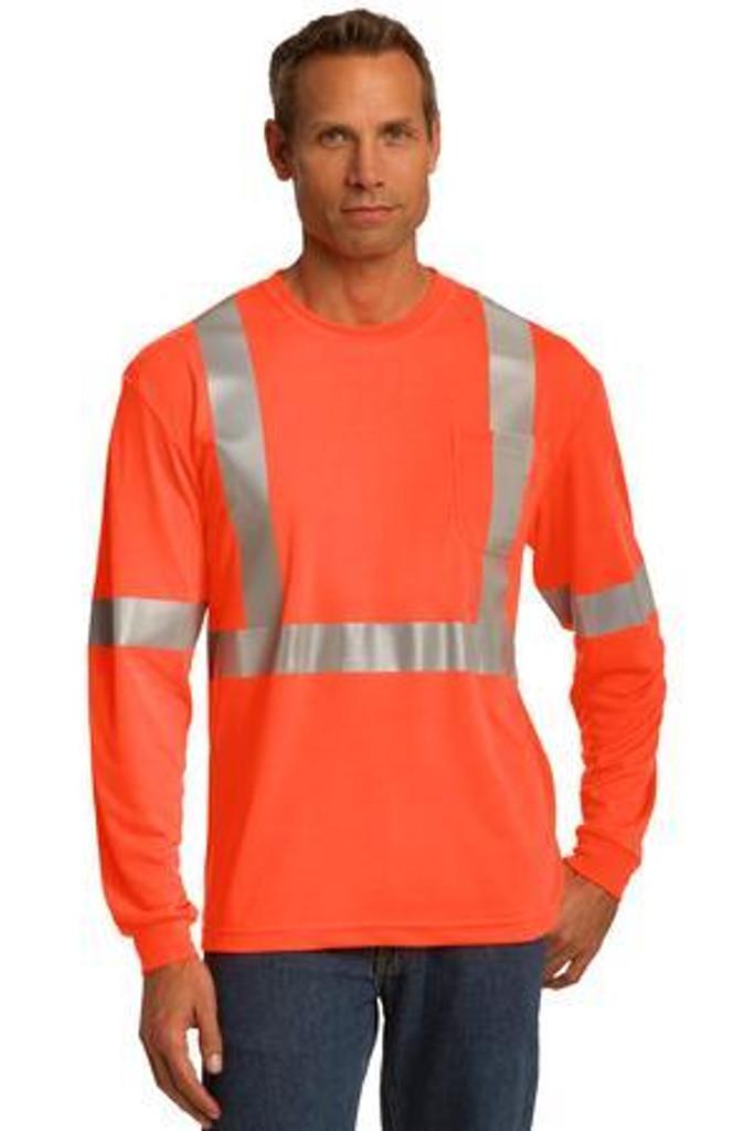 ANSI 107 Class 2 Long Sleeve Safety T-Shirt