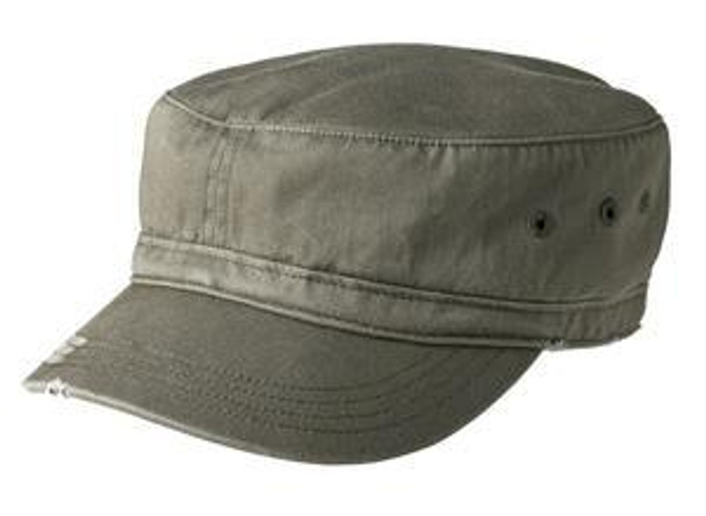 Distressed Military Hat