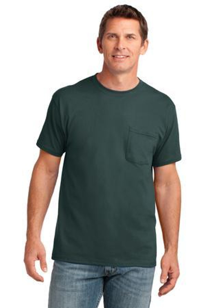 Core Cotton Pocket Tee