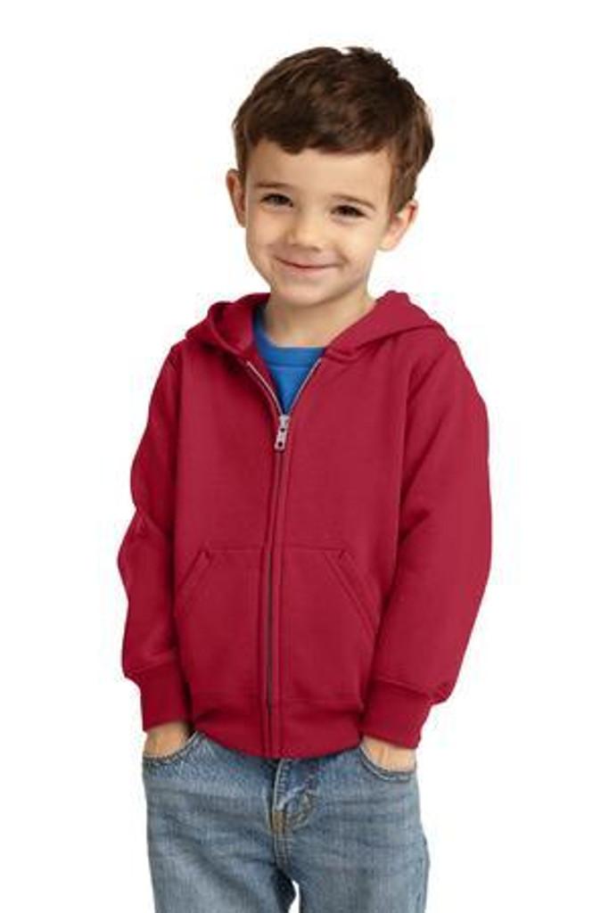 Toddler Core Fleece Full-Zip Hooded Sweatshirt