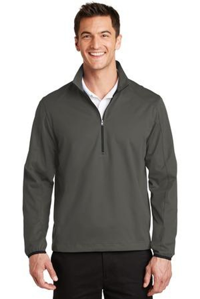 Active 1/2-Zip Soft Shell Jacket