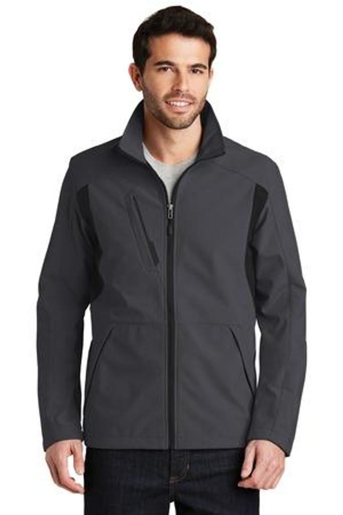 Back-Block Soft Shell Jacket