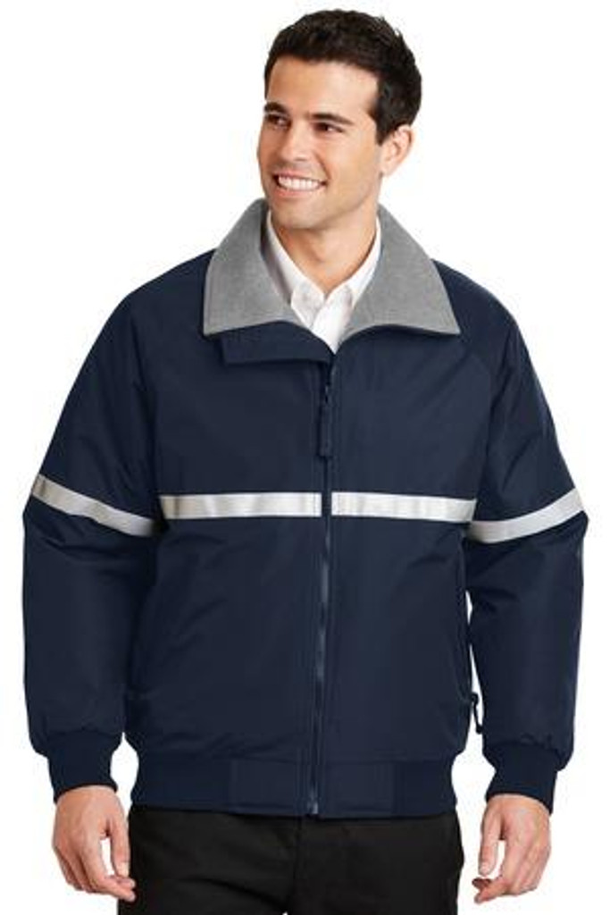 Challenger Jacket with Reflective Taping