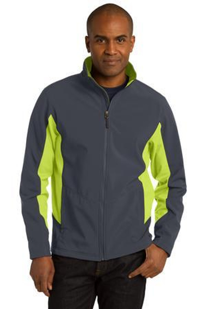 Tall Core Colorblock Soft Shell Jacket